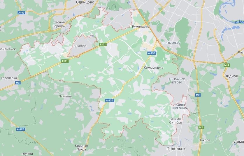 Новомосковский округ