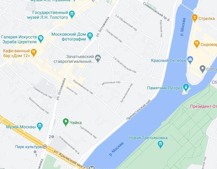 Район Остоженко