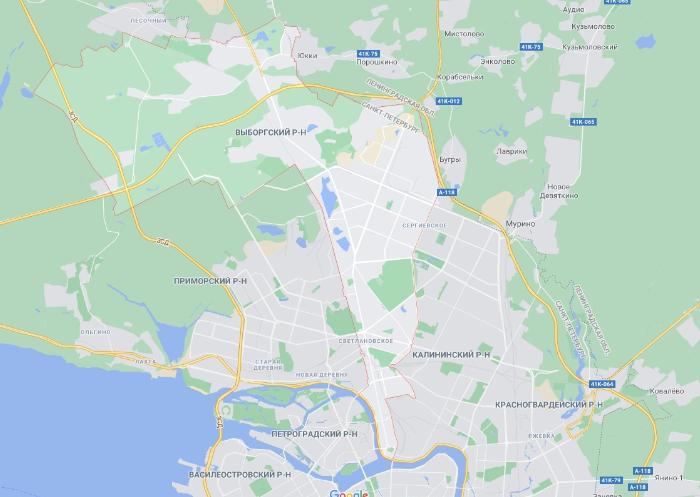 Выборгский район Петербурга